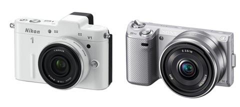 Nikon 1 V1 & Sony NEX-5N