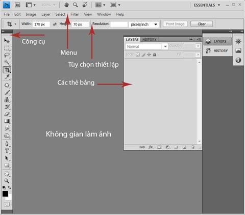 Thủ thuật Photoshop: Những thao tác cơ bản