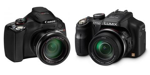 Canon SX40 HS đọ sức Panasonic DMC-FZ150