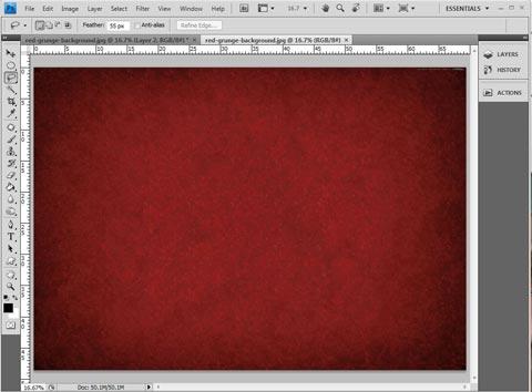 Thủ thuật Photoshop: Tự tạo thiệp Giáng sinh