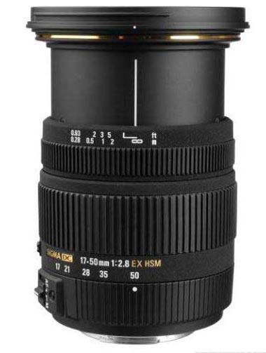 Sigma 17-50mm f/2.8 EX DC HSM