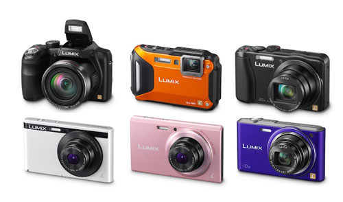 Camera-news, CES 2013, Panasonic, Panasonic F5, Panasonic FH10, Panasonic SZ3, Panasonic TZ35, Panasonic TZ45, Panasonic XS1, Panasonic Lumix FT5, Panasonic LZ30