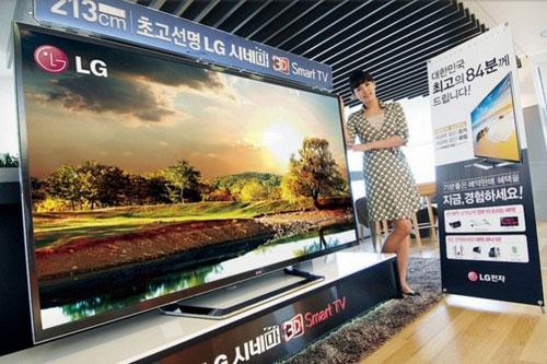 TV-news, CES 2013, CES-2013, Ultra HD, TV, TV Ultra HD, Sony, LG Electronics