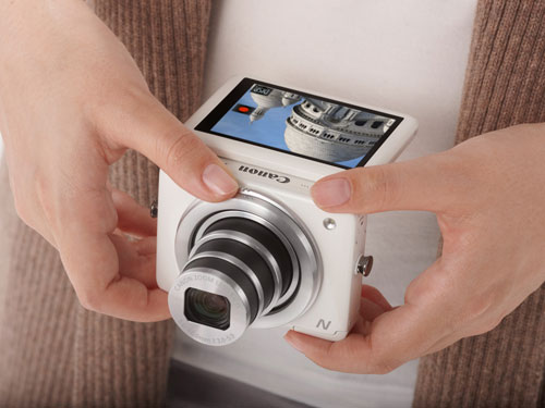 Camera-news, CES 2013, Canon, Canon PowerShot N, may anh canon, may-anh-canon