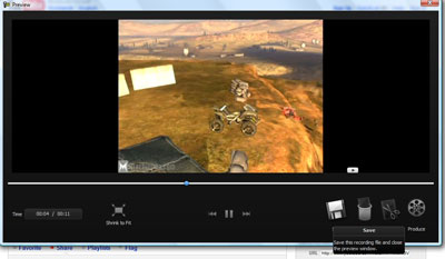 Preview trước, chọn Save để lưu video vừa tạo