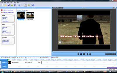Video đã được kéo thả xuống dưới để hiệu chỉnh âm thanh, hình ảnh