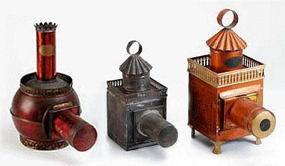 Các máy chiếu năm 1860
