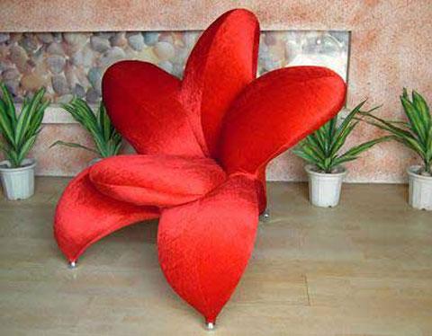 Ghế hình bông hoa