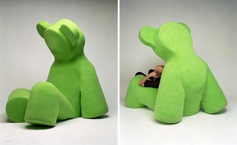 Ghế hình gấu Teddy