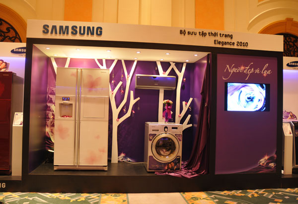 Dòng sản phẩm gia dụng cao cấp được Samsung đưa ra thị trường 2010