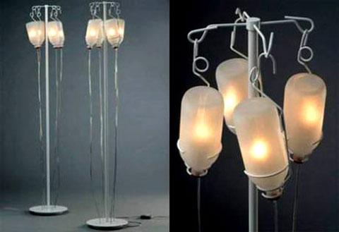 Những chiếc đèn này cho cảm giác như đang trong phòng mạch