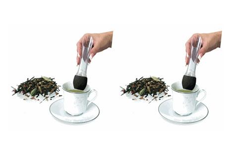 dụng cụ pha trà hình tulip