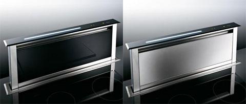 Best-spa Lift được đặt thẳng đứng so với mặt bếp