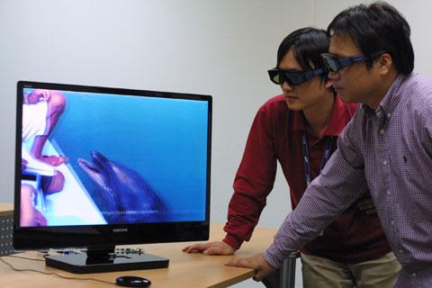 buộc phải đeo kính mới xem được phim 3D