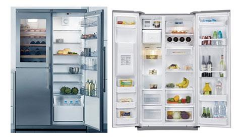 ngăn thực phẩm được bố trí hợp lý giúp thực phẩm tươi lâu hơn