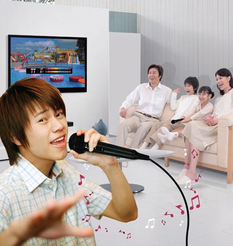 đầu karaoke giải trí tại gia