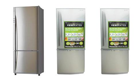 Tủ lạnh Vegerator của Panasonic gồm 2 dòng: Inverter và không Inverter