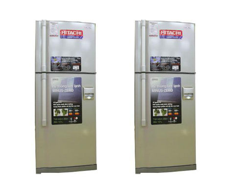 tủ lạnh Hitachi 530AG7D có vòi nước ngoài tiện dung