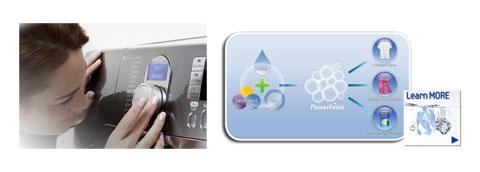 Điều chỉnh thời gian sấy đồ nhờ bộ cảm biến Sensor Dryer- Samsung