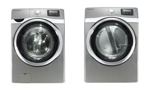 Bộ máy giặt WF520 và máy sấy DV520 của Samsung