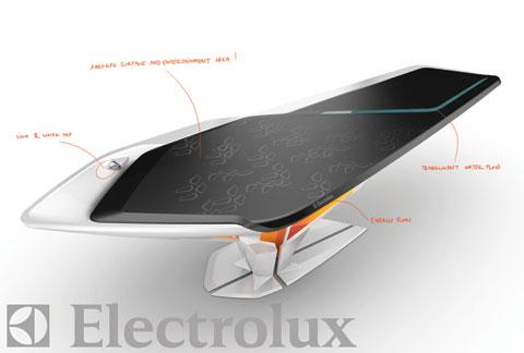 Concept bàn bếp đa năng của Electrolux