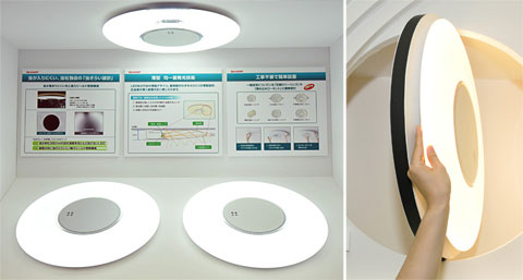 Sharp LED celling