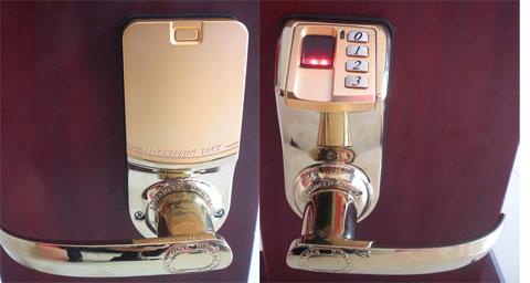 khóa vân tay DIY3398