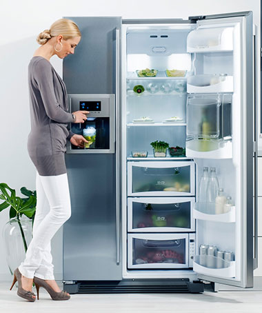 tủ lạnh Electrolux side by side