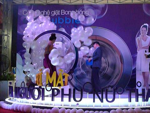 máy giặt Samsung công nghệ Bong bóng