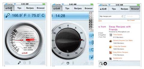 iGrill thiết bị kiểm tra nhiệt độ thực phẩm kết nối iDevices