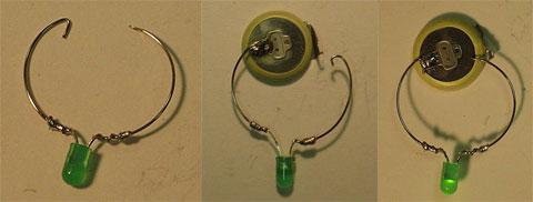Tự làm đèn LED trang trí ly rượu