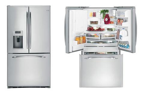 GE giới thiệu loạt tủ lạnh French Door