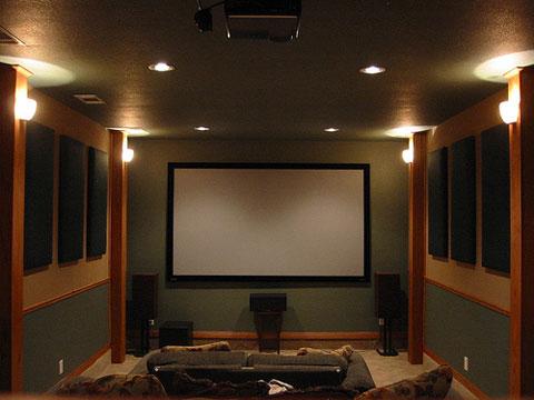 ý tưởng thiết kế Home Theatre