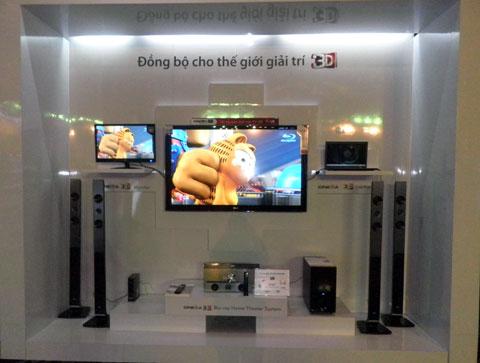 LG giới thiệu TV Cinema 3D