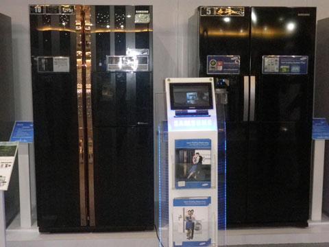 Samsung giới thiệu bộ sản phẩm gia dụng 2011