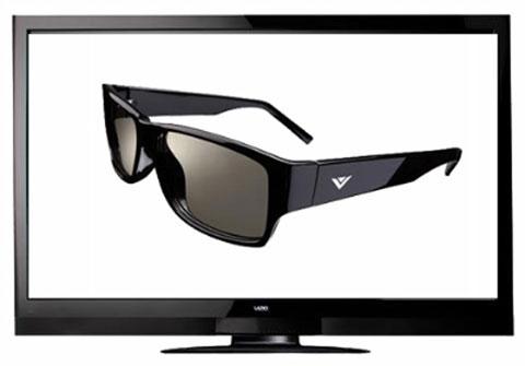 TV 3D thụ động sẽ tiều thụ mạnh hơn TV 3D chủ động