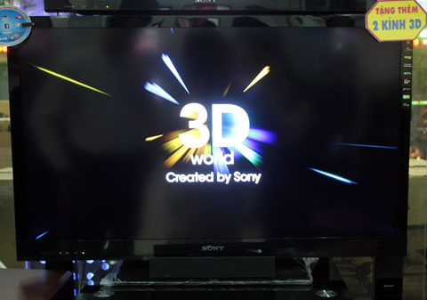 Sony, Sony EX720, TV3D