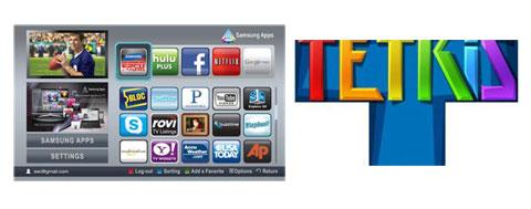 Samsung, HDTV, Tetris