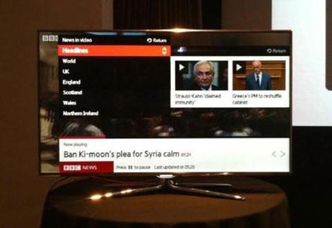 Samsung, HDTV, IETV, BC