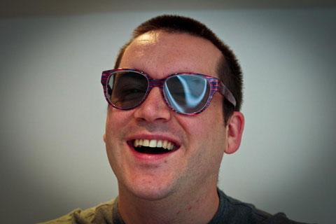 LG, 3D glasses, Giles Deacon