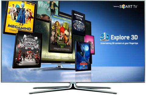 Samsung, SmartTV, 3D VOD