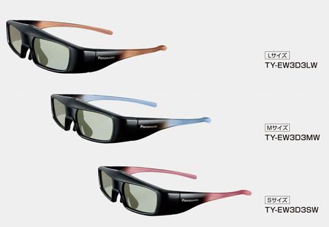 Panasonic, 3D, TY-EW3D