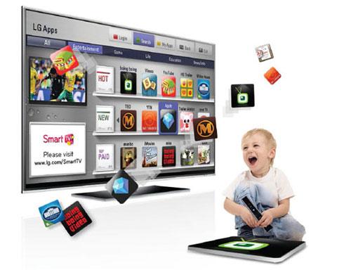 LG, LG Apps, 90 ứng dụng TV dành cho châu á