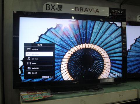 Sony BX420, TV phổ thông không kết nối mạng