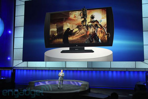 Sony TV3D Playstation có giá 449 Euro tại Châu âU