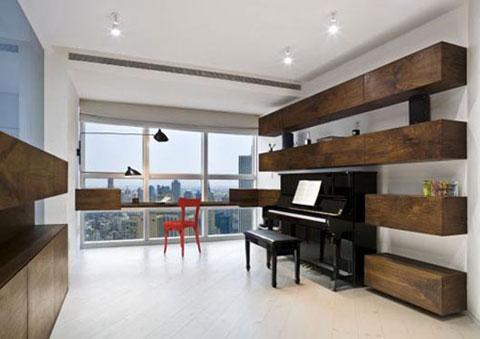 ý tưởng trang trí phòng chơi nhạc