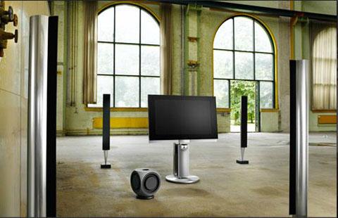 BeoVision 7, B&O, tích hợp Blu-ray và 3D