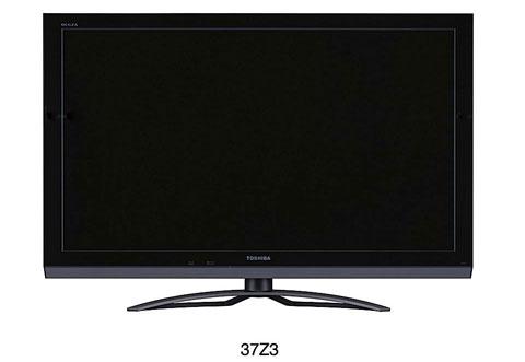 3D, HDTV, Toshiba, CEVO Engine, Regza, Z3, ZP3