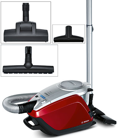 Bosch, Relaxx'x ProSilence, máy hút bụi, vacuum cleaner, RobustAir Compressor Technology, SilenceSound