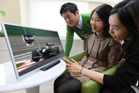 HDTV, LCD, Scanning backlight, refresh rate, tốc độ quét hình, kỹ thuật đèn quét nền